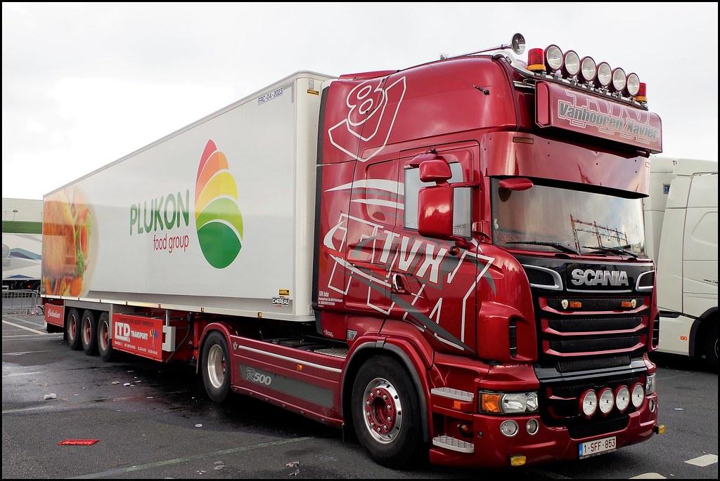 Scania R500 Topline Tvx Transport Vanhooren Xavier Kort Flickr