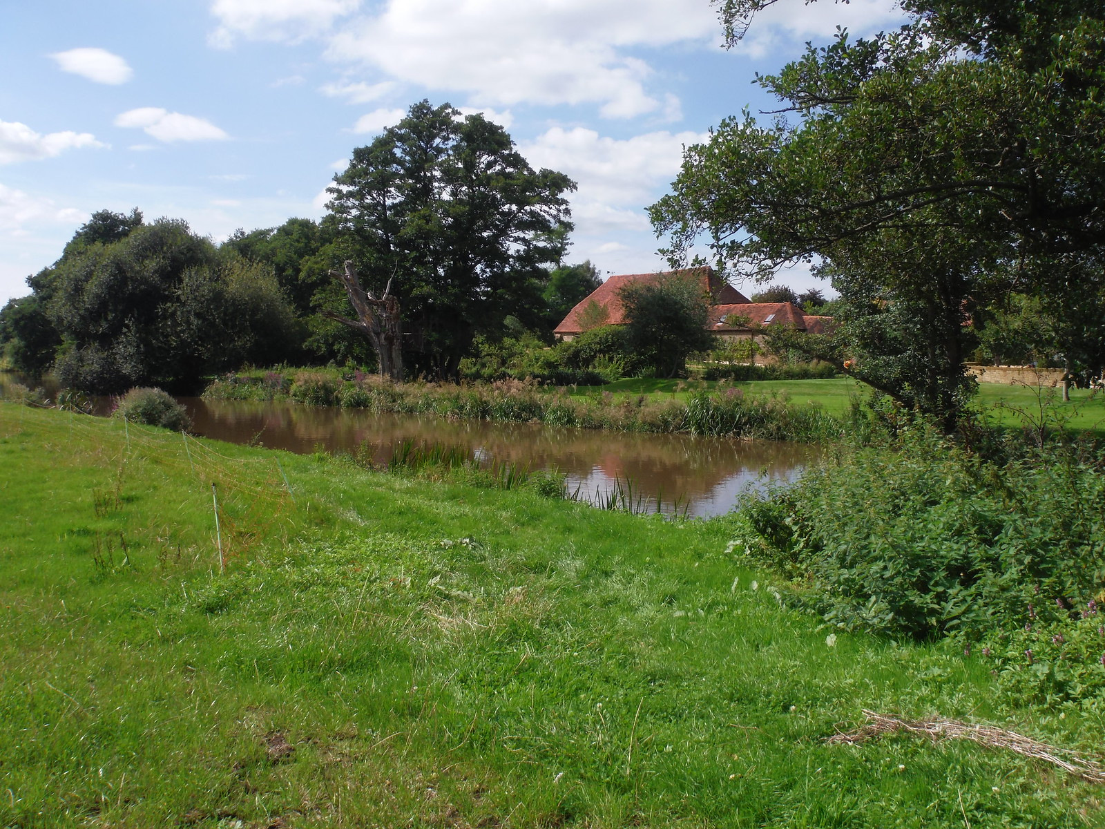 Rotherbridge Farm, on Rother River SWC Walk 294 - Pulborough to Halfway Bridge (via Tillington)