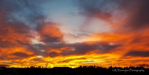 augusta georgia unitedstates augustaga skyline sunlight sunset cloudy clouds silhouettephotography silhouette redsky orangesky cellphonesshot samsung samsunggalaxys6 placescity
