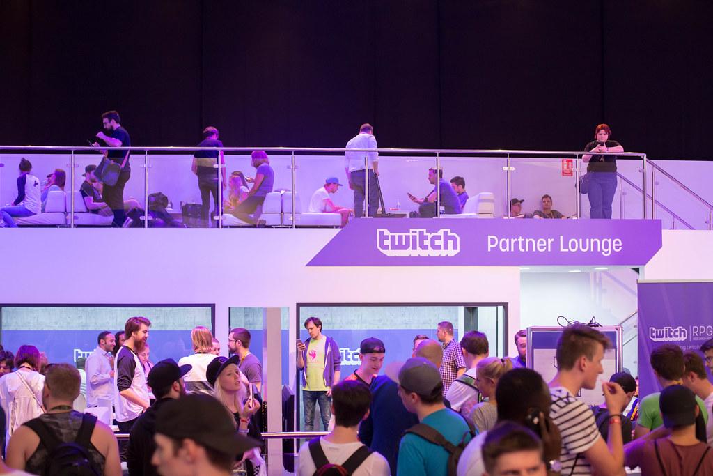 Twitch Partner Lounge bei der Gamescom 2017