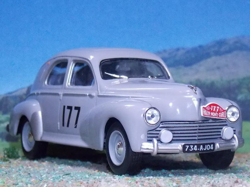 Peugeot 203 - Montecarlo 1960
