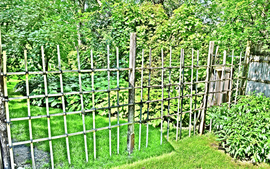 HDR Japanese Garden Fence | Como Park Zoo And Conservatory ...