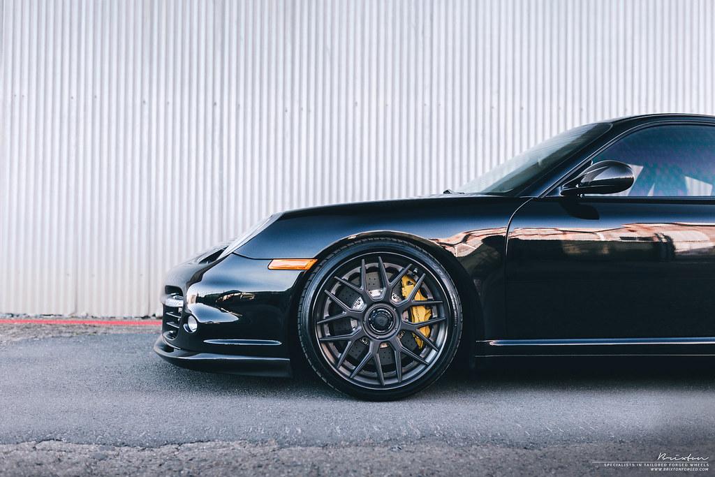 Brixton Forged Wheels Black Porsche 997 2 Turbo 20 Brixto Flickr
