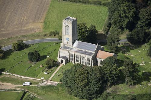 swantonmorley church norfolk flint medieval eastanglia aerial aerialphotography aerialview aerialphotograph aerialimagesuk viewfromplane britainfromtheair britainfromabove hirez highresolution hidef hires highdefinition