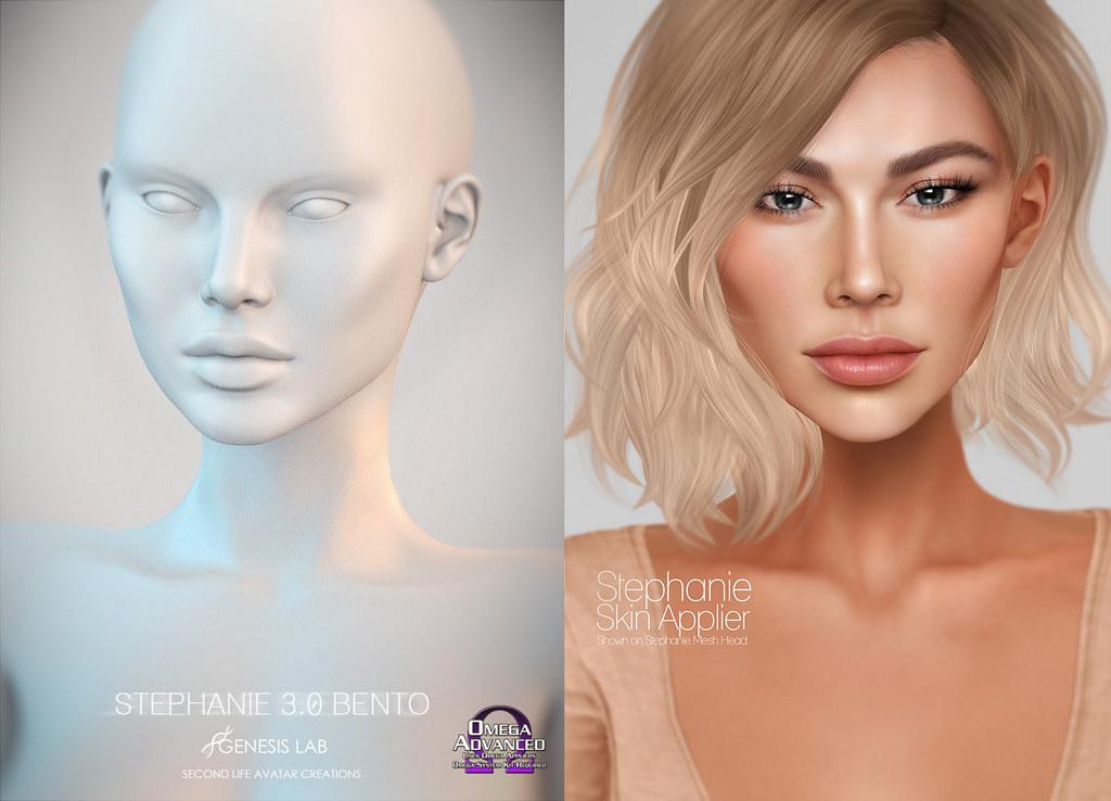 Stephanie Head/Skin applier | The Mesh Body Addicts Fair 201