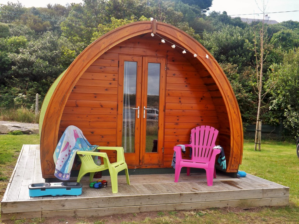 Glamping in Kells Bay, Co. Kerry.