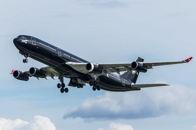 HiFly / A343 / 9H-TQM / EDDL 23L