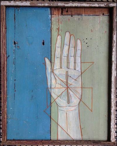 Antique hand made panel hand | by iamhieronymus@gmail.com