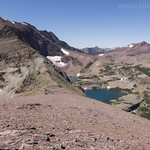 Red Mountain and Lonely Lakes