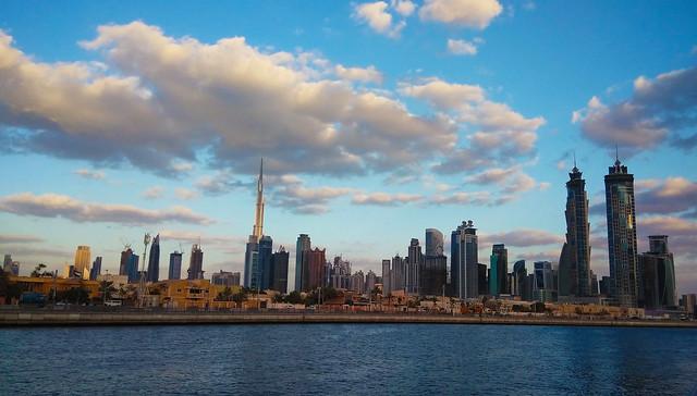 Dubai Canal cityscape (2)