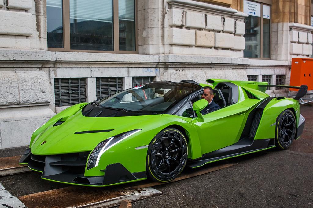 Lamborghini Veneno Roadster Neuchatel Cyril Minder Photography
