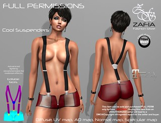 Cool Suspenders Maitreya | by ZAFIA Fashion Store-METAPHOR