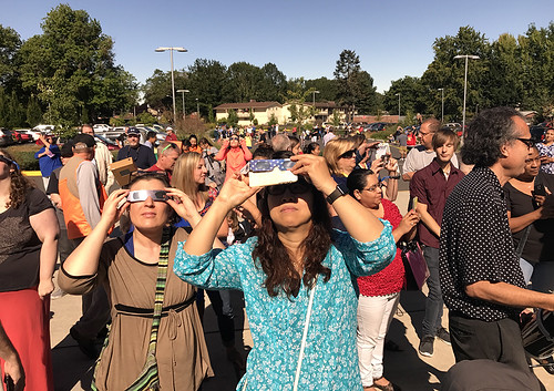 solar eclipse longview washington college communitycollege lowercolumbiacollege education highereducation eclipse17 2017 moon celestial cowlitzcounty stem wa science pnw 97percent total totality viewing nasa space solareclipse2017 solareclipseglasses glasses telescope