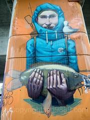 Schänzle Bridge Underpass Graffiti Mural, Konstanz, Germany