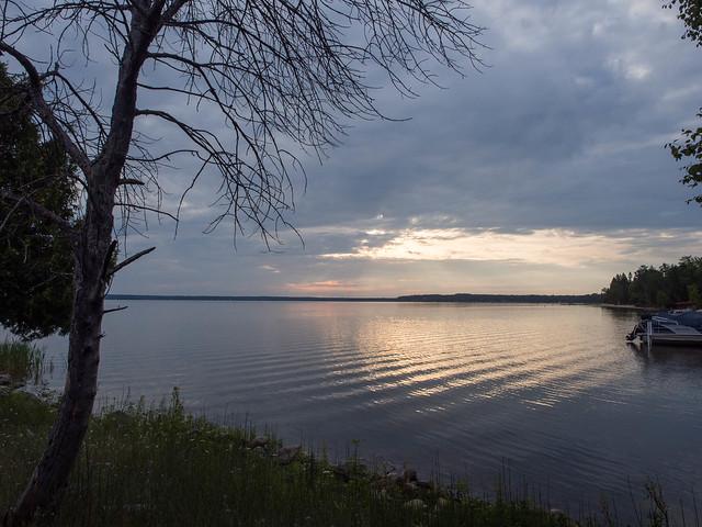 Black Lake at Sunrise