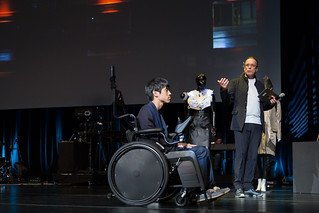 Satoshi Hashizume (JP), Gerfried Stocker (AT) | by Ars Electronica