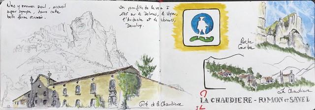 sur les Pas des Huguenots, jour 2, La Chaudiere