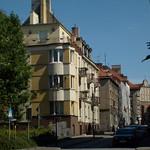Ulica Narutowicza (Narutowicz Street). Kalisz, Poland