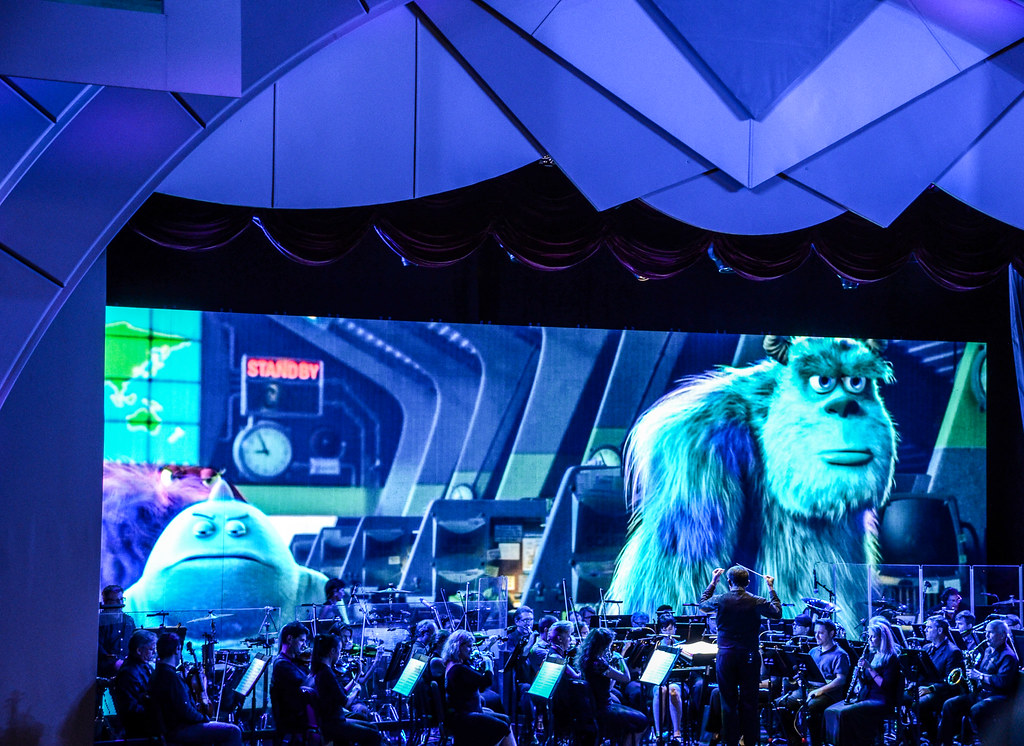 Pixar Monsters Inc DHS