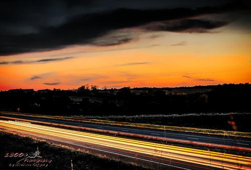 nikon 50mm d750 affinity outdoors light trails sunset landscape evening missouri ozarks