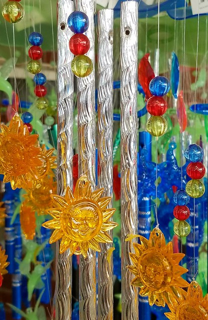 These Wind Chimes Were Love At First Sight!  Whimsical Melodic Delight! ☺☺   Photos by Joseph