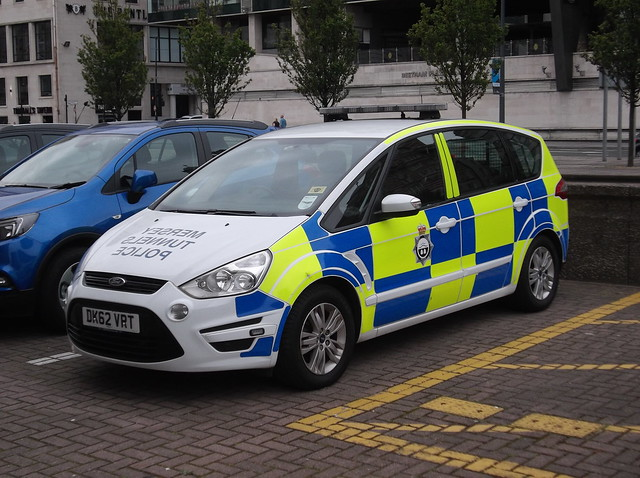 Mersey Tunnels Police Ford S-Max (DK62 VRT)