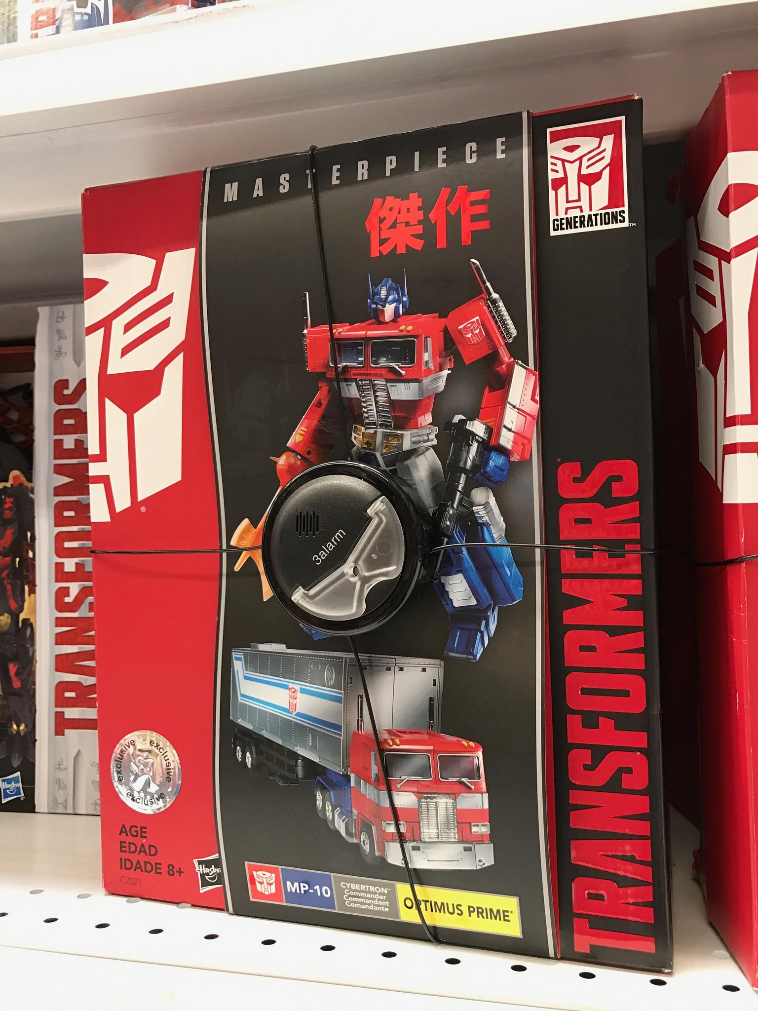 Optimus Prime box