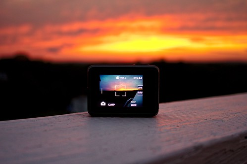 sunset gopro nature