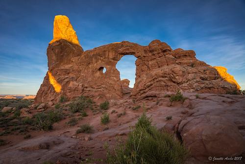 2017 archesnationalpark sonya7r usa utah hike hiking landscape travel windowssection moab northamerica turretarch arch rock sandstone geology