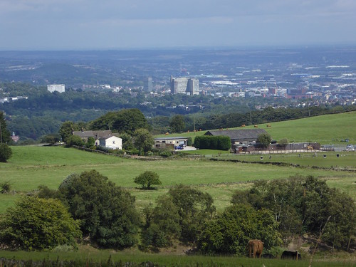 Sheffield from the moors Sheffield to Bamford walk