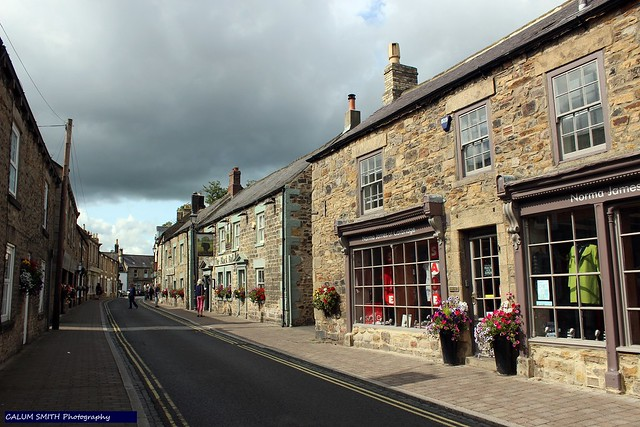 Middle Street, Corbridge, Northumberland.