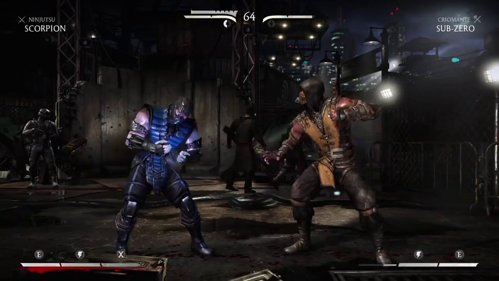 Mortal Kombat X Scorpion Vs Subzero Gameplay Ptbr Dublado Flickr