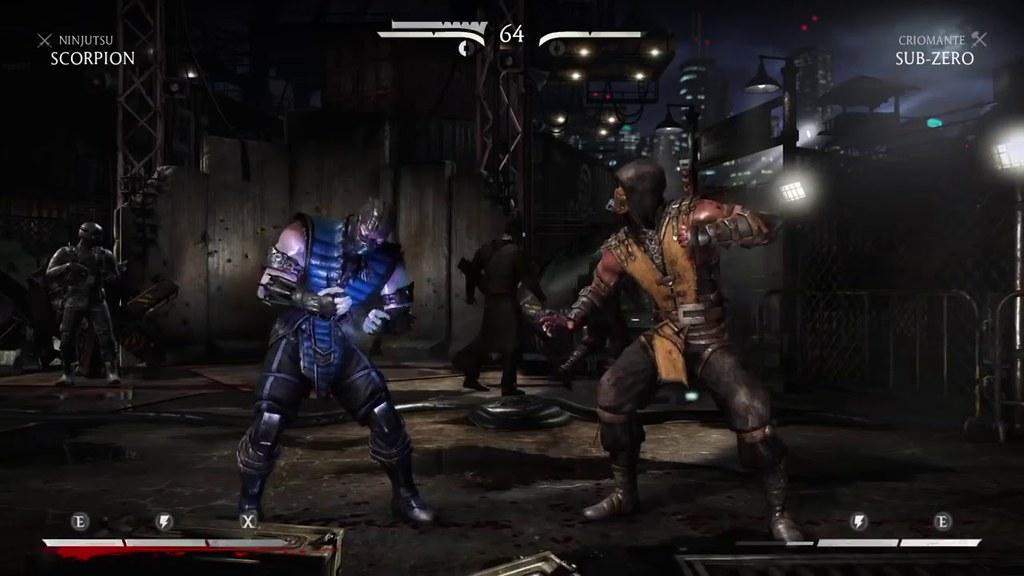 Mortal Kombat X Scorpion Vs Subzero Gameplay Ptbr Dublado Flickr