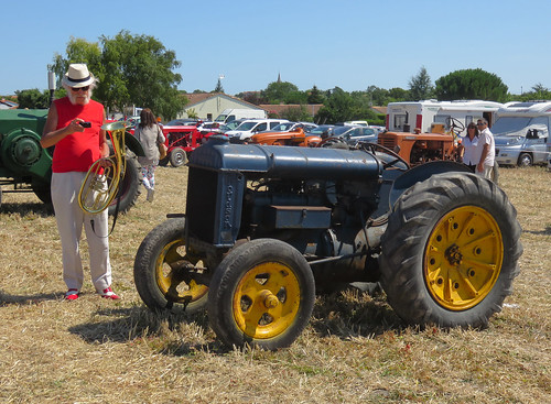 Fordson Tractor (and horn player) | by Spottedlaurel