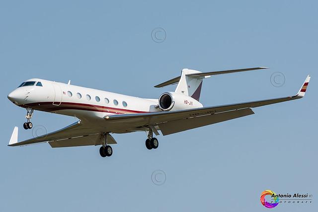 HB-JKI ExecuJet Aviation Group LIN