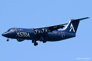 SX-DIZ Astra Airlines British Aerospace 146-300 | by Planes , ships and trains!