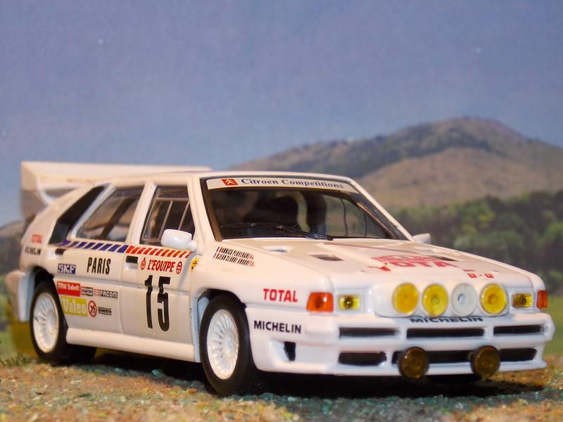 Citroën BX 4TC – Montecarlo 1986