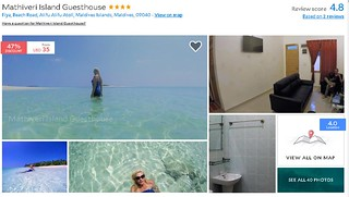 Mathiveri Island Guest House - Maldives Cheap Accommodation   by theyolomoments