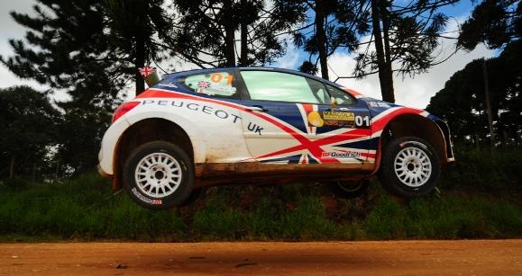 Peugeot 207 S2000 – Curitiba Rally 2010