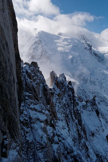CHAMONIX  mont blanc du tacul