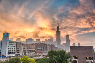Colorful Sunrise from UIC | by ShutterRunner