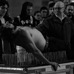 on a bed of nails