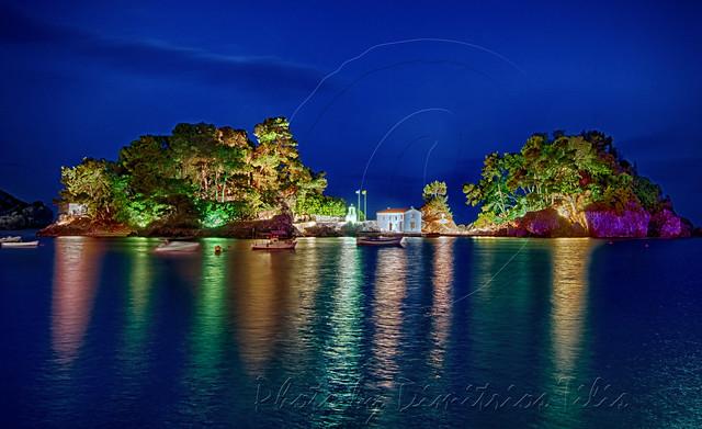 Νησάκι της Παναγίας Πάργα Isle of Virgin Mary Parga 4