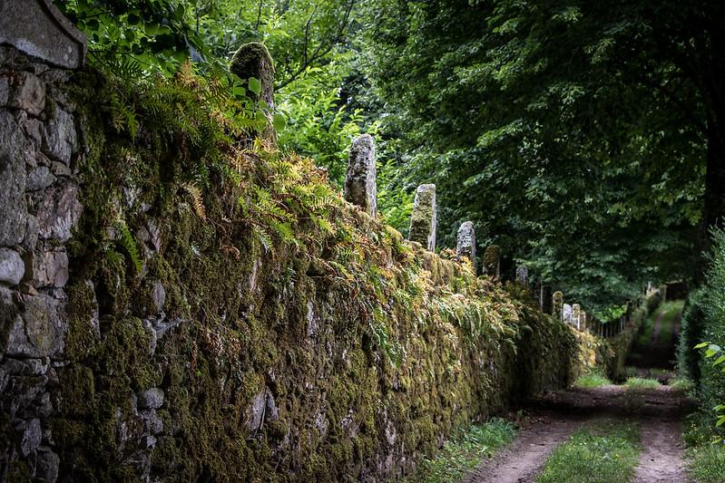 Pazo de Oca's wall