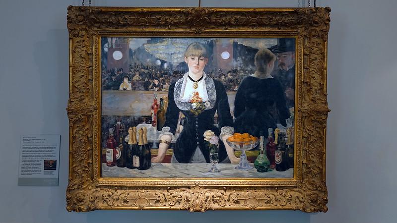 Manet, A Bar at the Folies-Bergère, 1882