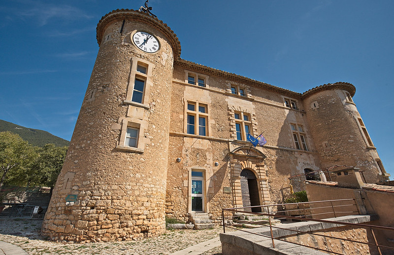 Château de Rustrel. Vaucluse.