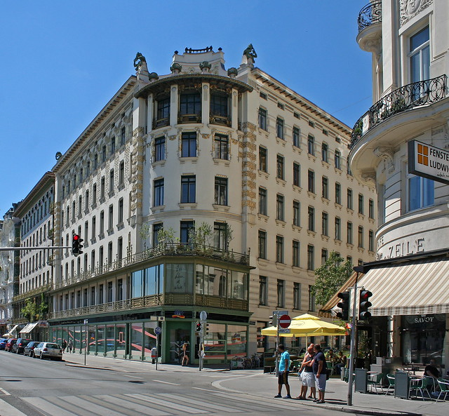 Otto Wagner: Linke Wienzeile 38