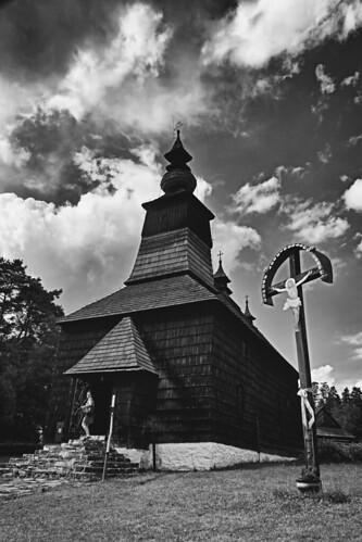 wooden church Matysova | by bwstock