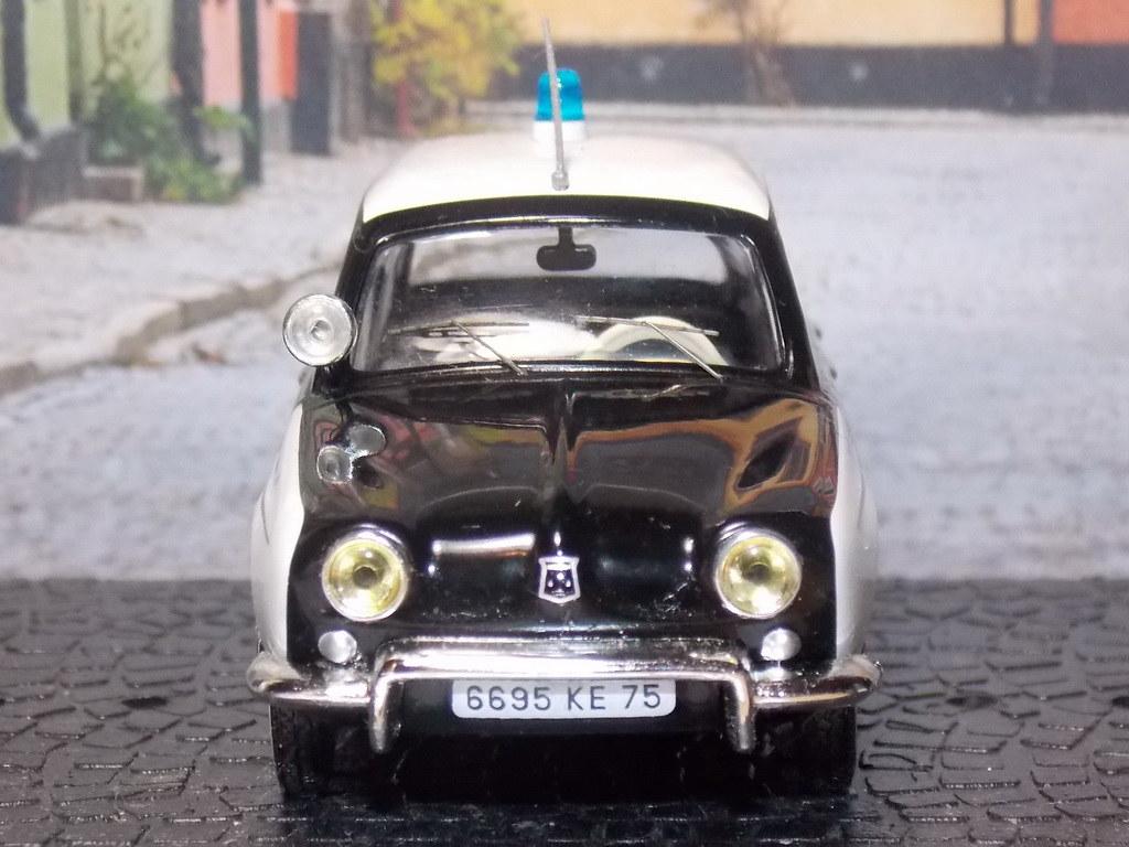 Renault Dauphine – Police Paris – 1962
