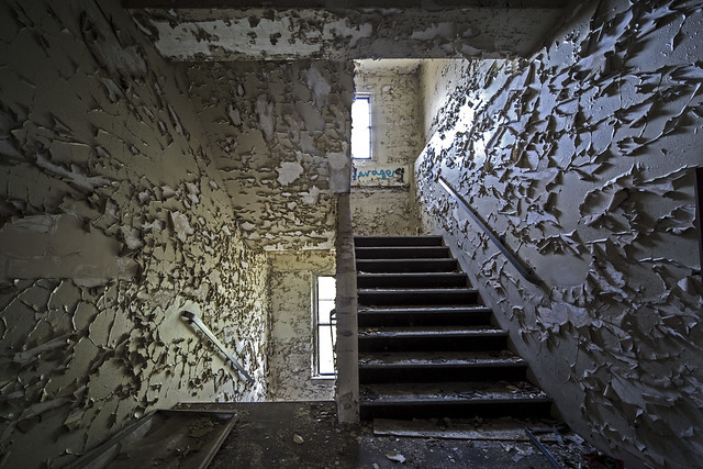 hospital steps